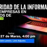 Seguridad de la información para empresas en tiempos de COVID-19