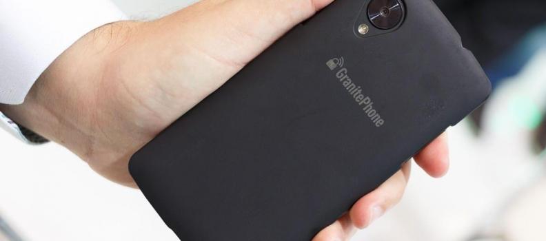 Granite Phone, el nuevo celular enfocado en la privacidad.